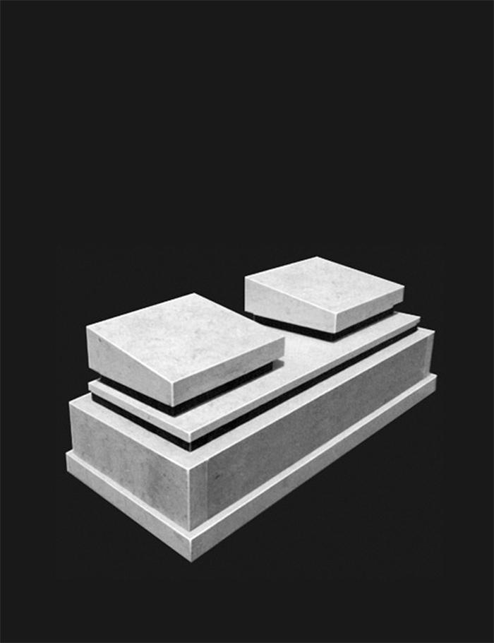 Мусульманский памятник на два захоронения