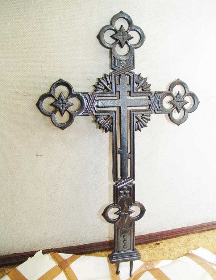 Купить в Москве крест чугунный можете недорого.