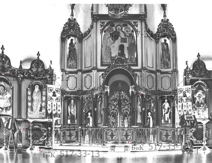 Решетка в храме.