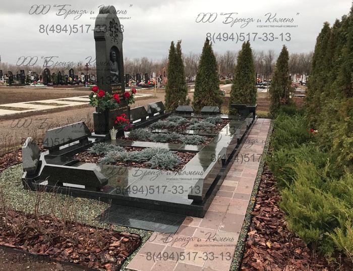 Элитный памятник из Масловского гранита.
