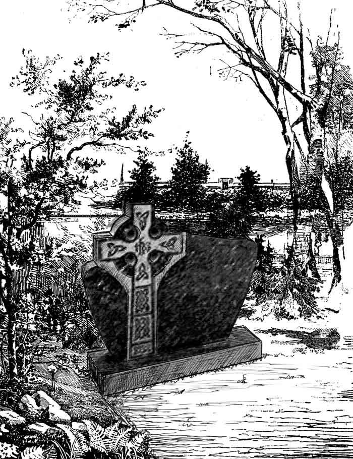 Грузинский православный памятник.