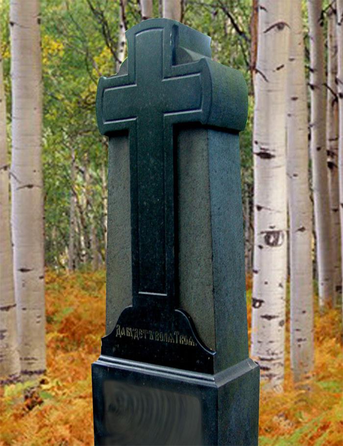 Крест гранитный