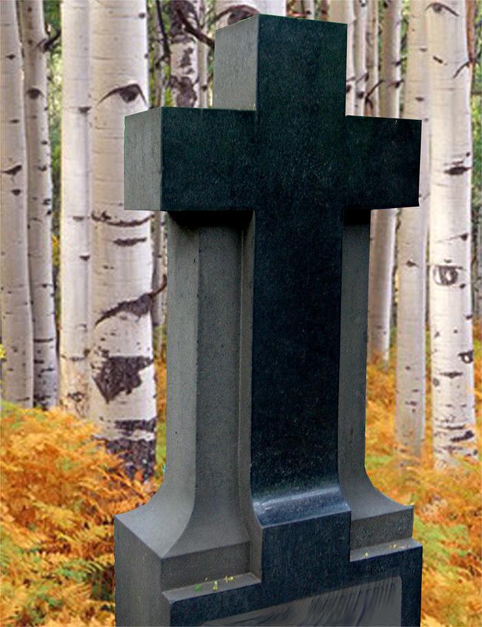 Крест из натурального камня