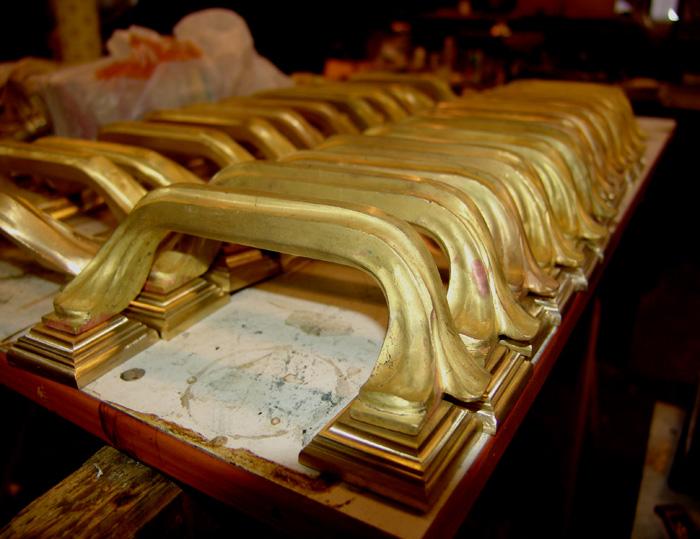 Изготовим ручки - скоба из бронзы или латуни