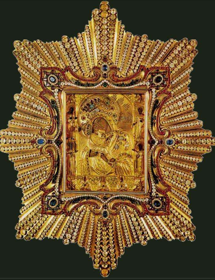 Чудотворный образ Почаевской Царицы Небесной