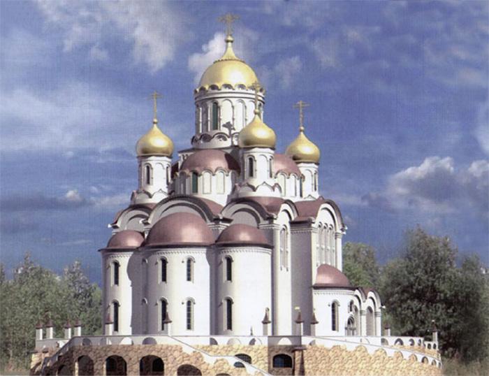Проект Храма Живоначальной Троицы