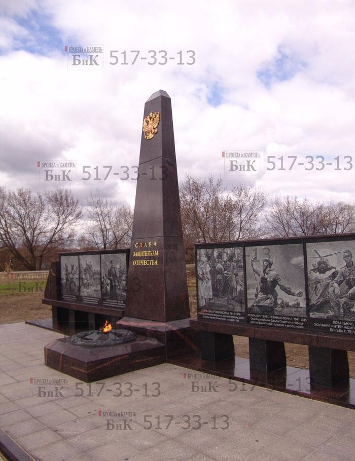 Изготовление монументов павшим в войнах. Москва.