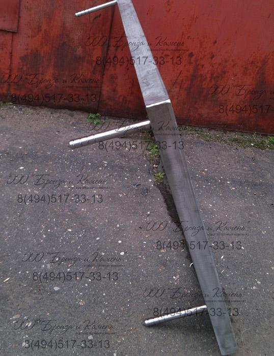 Рамка для гранитной доски из нержавеющей стали.