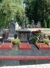 Троекуровское кладбище. Грузинский памятник с крестом.