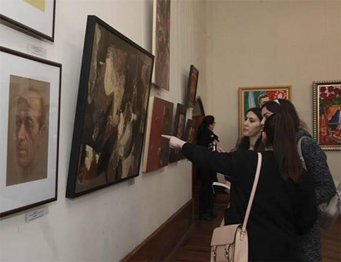 Адгур Ампар Абхазский художник.