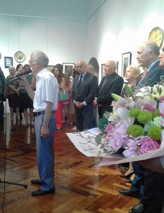В юбилей Ляли Хурхумал открытие персональной выставка в Сухум.