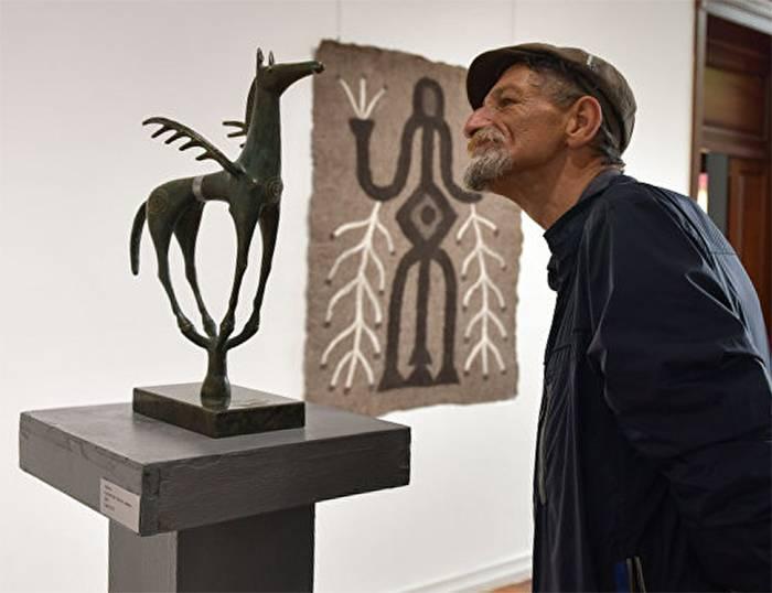 Цель выставки – показать абхазскому зрителю древний мир кабардинского народа