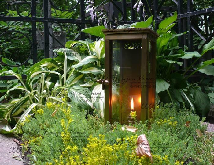 Лампадка для кладбища