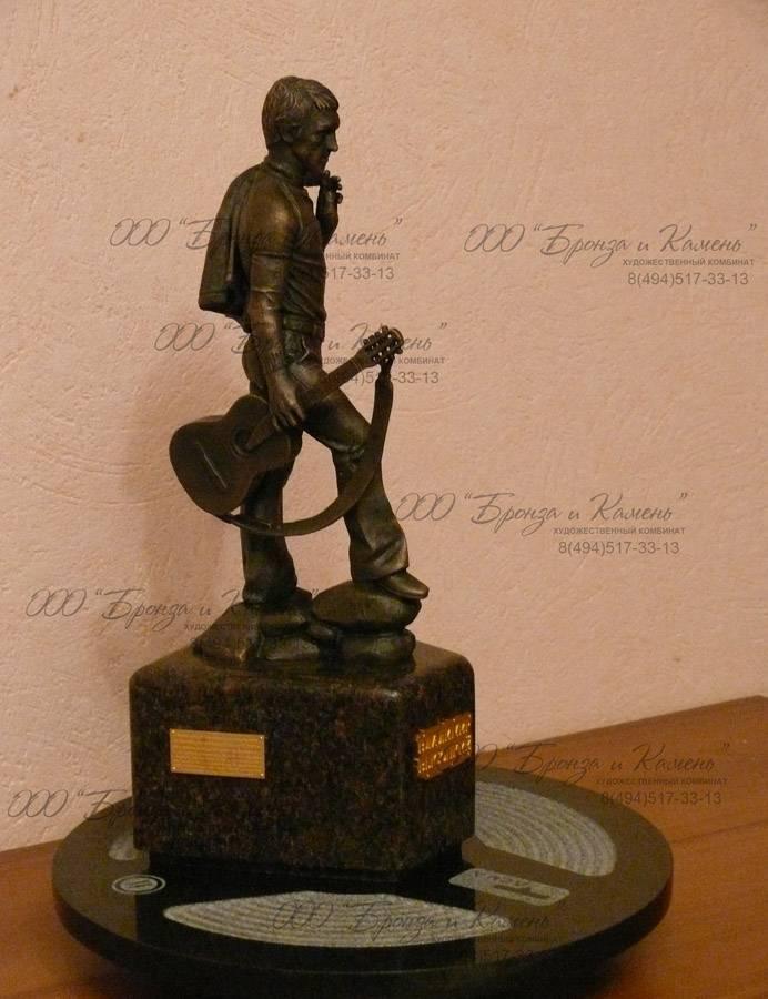 Кабинетная скульптура Высоцкого