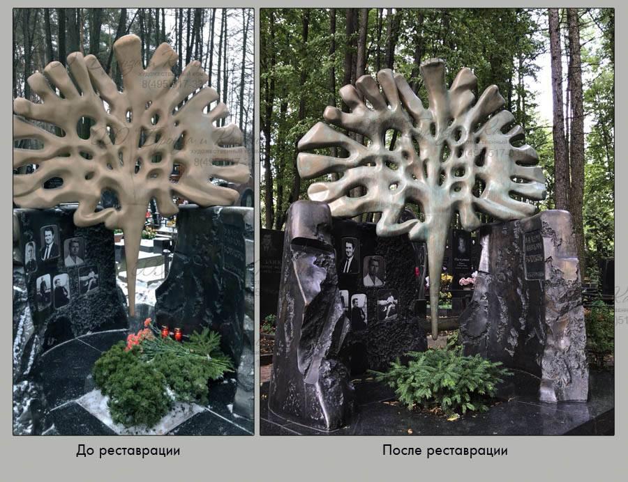 Памятники после реставраци