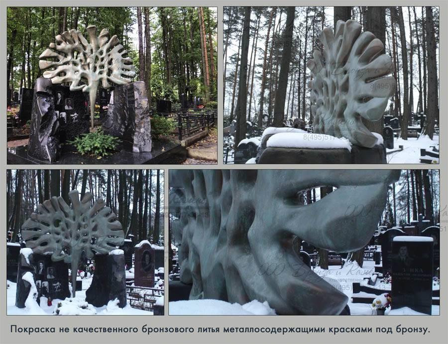 Реставрация памятников на кладбище цены