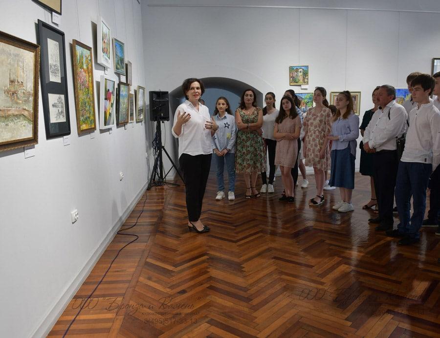 Выставка организованная Союзом художников Абхазии